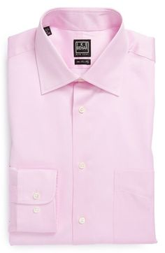 Ike Behar Regular Fit Solid Dress Shirt available at #Nordstrom