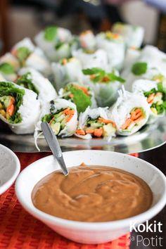 Kokit ja Potit -ruokablogi: Maapähkinäkastike vietnamilaisille kesärullille