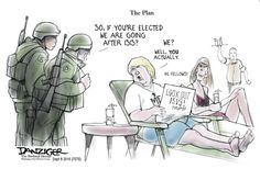 Jeff Danziger Editorial Cartoon, September 08, 2016     on GoComics.com
