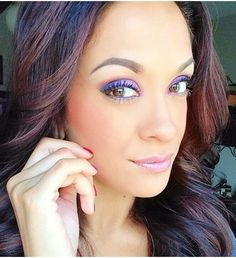 Purple is back!! Achieve this look with Younique's Passionate Eye Pencil and pair it with Flirty and Vulnerable Eye Pigments. All the colours available at www.raiseyourlashes.com
