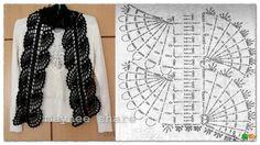 Patron Crochet Bufanda - Patrones Crochet