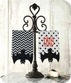 Bat Fingertip Towels - Set of 2