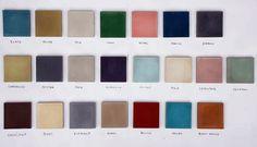 Color Palette - Marrakech Design
