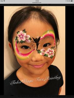 When you think about face painting designs, you probably think about simple kids face painting designs. Many people do not realize that face painting designs go beyond the basic and simple shapes that we see on small children. Face Painting Unicorn, Face Painting Flowers, Girl Face Painting, Face Painting Tips, Face Painting Tutorials, Belly Painting, Face Painting Designs, Rainbow Face Paint, Princess Face Painting
