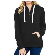 Moginp 2017 Fashion Autumn Winter Hoodie Womens Letters Beauty Long Sleeve Sweatshirt Hooded Pullover Tops Blouse with Kangaroo Pockets