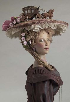 NANCY WILEY: Woman in Hat