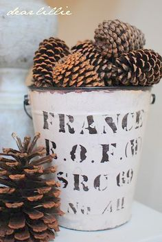 Autumn decor by dear lillie Christmas Tree Farm, Winter Christmas, Christmas Time, Merry Christmas, French Christmas, Christmas Ideas, Seasonal Decor, Holiday Decor, Dear Lillie