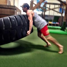 Strongman Workout:  5 Steps to Flipping a Tractor Tire in Your Workout