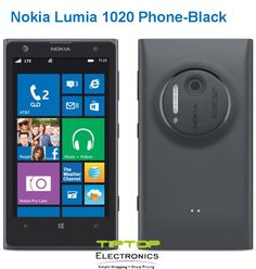 Buy new windows phone launched by nokia - Lumia 1020 with amazing features like 41MP camera with amazing audio capture, super high resolution, captures stunning images.