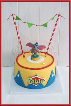 Dumbo cake. Tarta Dumbo. Cooking Art La Muela.