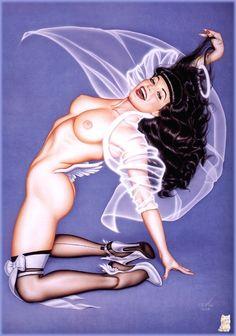 Bettie Page by  Olivia De Berardinis
