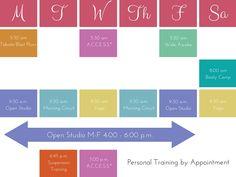 Schedule - Balance • Fitness & Wellness