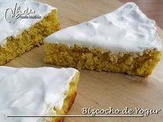 Bizcocho de Yogur, sin yemas