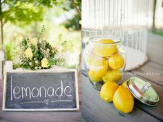 """lemonade stand (Whit: how cute would it be to have Chloe and Chase """"working"""" a lemonade stand?!?)"""