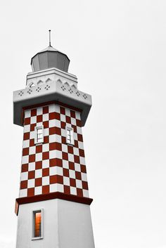 Lighthouse in Lemut, Brunei