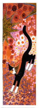 Colorful Flower III by Rosina Wachtmeister