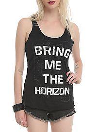 HOTTOPIC.COM - Bring Me The Horizon Logo Girls Tank Top