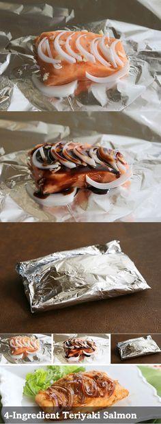 Geprobeert: heel simpel te maken (weinig voorbereiding) en echt heel lekker! Zalm teriyaki met uitjes en ik heb zelf nog champignonnen toegevoegd....