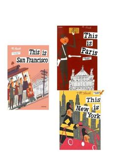 Travel Theme Nursery - these books have great reviews