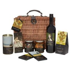 £70.00 - Delicious Art Luxury Hamper. The contents of this delightful Delicious Art Hamper have been carefully selected to give you the finest selection of products from our #DeliciousArt range. #ValentinesDay