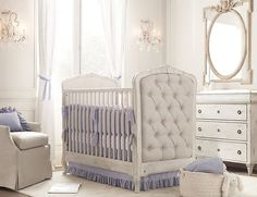 For the nursery of my dreams!  Love the old traditional feel of Restoration Hardware baby furniture.