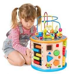 Kids Activity Center, Activity Cube, Activity Toys, Educational Toys For Toddlers, Learning Toys, Birthday Gifts For Boys, Gifts For Kids, Toddler Toys, Baby Toys