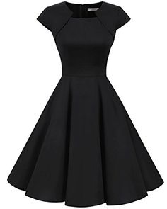 online shopping for Homrain Homrain Women's Retro Vintage A-Line Long Sleeves Cocktail Swing Party Dress from top store. See new offer for Homrain Homrain Women's Retro Vintage A-Line Long Sleeves Cocktail Swing Party Dress Retro Vintage Dresses, Vestidos Vintage, Retro Dress, Vintage Clothing, Pretty Dresses, Sexy Dresses, Fashion Dresses, Elegant Dresses, Formal Dresses