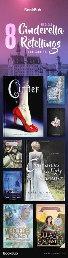8 fairy tale retellings of Cinderella for teens and for adults. These books put a twist on the popular classic fairy tales for kids.