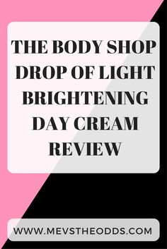 Tired of uneven skin? The body shop have nailed it again with this amazing cream! Best Drugstore Makeup, Makeup Dupes, Uneven Skin, Natural Makeup Looks, Cruelty Free Makeup, The Body Shop, Dark Skin, Blogging, Drop