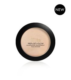 An on-the-glow primer, setting powder and illuminator in one! Prep + Set + Glow Illuminating Face Powder delivers a natural healthy glow, blurs the look of imperfections, sets makeup and adds all-over radiance. The lit-from-within finish is flattering on all skin tones and skin types.