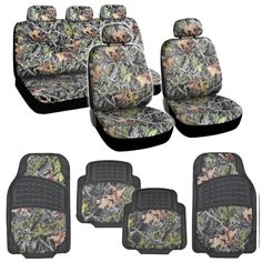 Hawg Camo Seat Covers Heavy Duty Rubber Floor Mats w Camouflage Inlay Cushion Grip Steering Wheel Cover Set >>> Read more at the image link. (This is an affiliate link) Camo Seat Covers, Truck Seat Covers, Leather Car Seat Covers, Rubber Floor Mats, Rubber Flooring, Car Floor Mats, Camouflage, Hunting Camo, Wheel Cover