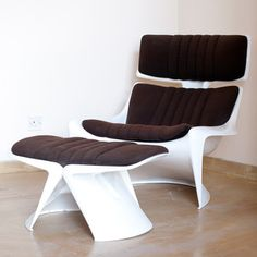 70s Meteor Chair And Stool