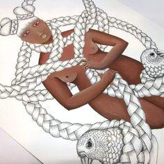 """Kaka Poria illustration #illustration"""
