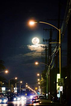 the moon in the city