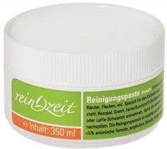 ReinZeit Reinigungs-Paste Coconut Oil, Jar, Food, Granite Counters, Cleaning, Steel, Products, Meal, Essen