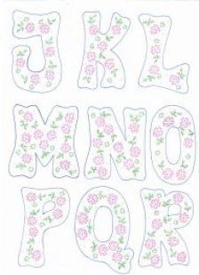 patrones de letras
