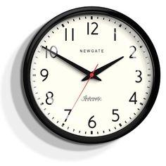 The Watford wall clock in chrome by Newgate Clocks Casablanca, Mechanical Clock, Mantel Clocks, Wall Clocks, Rustic Home Interiors, Watford, Diy Wall Decor, Home Decor, Second Hand