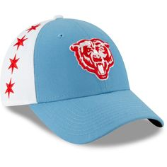 53692276945123 Chicago Bears New Era 2019 NFL Draft Spotlight 9FORTY Adjustable Hat –  Light Blue, Your Price: $29.99