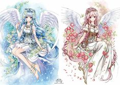 Alice Book, Anime Dress, Decoupage Paper, Kawaii Drawings, Anime Style, Fantasy, Manga Anime, Princess Zelda, Cute