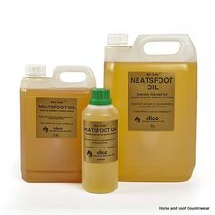 Gold Label Neatsfoot Oil Treats old leather and softens new leather Blended for spreading and ease of use even in colder weather.