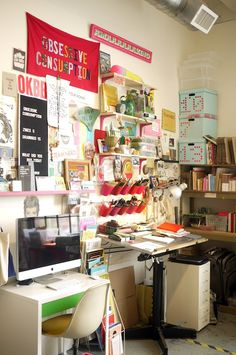 Office of Illustrator Kate Bingaman-Burt