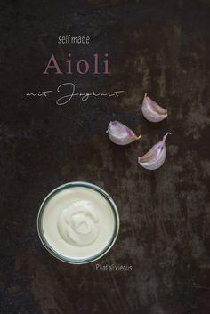 Lasst die Grillsaison beginnen – selfmade Aioli mit Joghurt