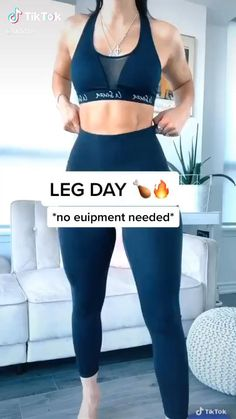 How to Get Slim Legs?leg exercises at home