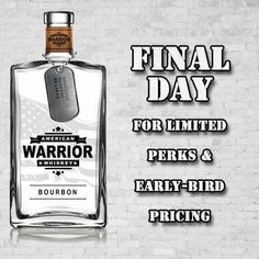 Several of our early-bird special pricing perks disappear tonight! Grab yours while you can! Thank you for your support. #AWW #whiskey #campaign #bourbon #spirits #drinks #nightlife #army #armystrong #marines #airforce #navy #coastguard #semperfi #semperparatus #america #freedom #usa #supportourmilitary #supportourveterans #supportourtroops #indiegogo #ptsdawareness #ptsd #veterans #nashville #servicedogs #pearlharbor #earlybird #smallbatch