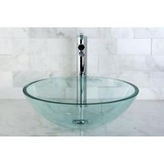 Simple, beautiful, natural clear glass vessel sink will turn an ordinary bathroom into a lavish and trendy space. Glass vessel sinks can be displayed for their beauty as well as their functionality. Glass Basin, Glass Vessel Sinks, Vessel Sink Bathroom, Pink Toilet, Boho Bathroom, Bathroom Ideas, Small Bathroom, Master Bathroom, Modern Bathrooms