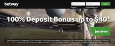 Get your exclusive welcome offer when you join Betway today. Experience pre-game and in-play sports betting markets, the latest casino games and more. Betting Markets, Sports Betting, Casino Games, The 100, Join