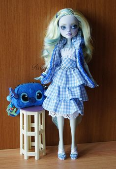 *LILO* OOAK repaint custom Monster high doll Lagoona Mattel by Raquel Clemente | Flickr - Photo Sharing!