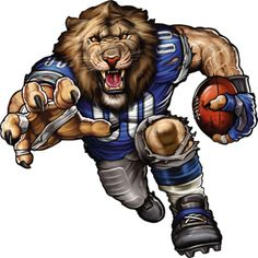 The players need the roar of the fans and nobody pumps up the crowd like your favorite team mascot! The Fathead NFL Team Mascot Wall Decal is an awesome. Detroit Lions Logo, Detroit Lions Football, Detroit Sports, Nfl Football Teams, Football Art, Football Memes, Nfl Sports, American Football, Vintage Football
