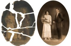 The Photo Restoration Center understands the significance of our clients history and memories. Old Photo Restoration, Old Photos, Novels, Darth Vader, History, Prints, Fictional Characters, Zero, Happiness