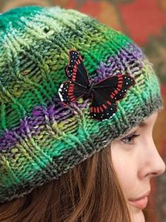 Riverbed Rib Hat (Knit Noro Accessories)